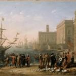 Вид гавани с Капитолия. Клод Лоррен (1600-1682)