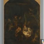 Поклонение пастухов. Рембрандт (1606-1669)