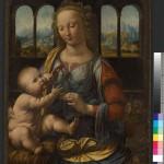 Дева с младенцем. Леонардо да Винчи (1452-1519)