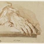 Рука человека. Tocque Louis (1696-1772)