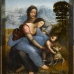 Мадонна с младенцем и Святой Анны. Леонардо да Винчи (1452-1519)