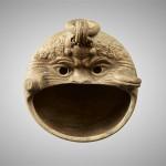Подвесной светильник в форме маски