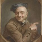 Автопортрет. La Tour Maurice Quentin de (1704-1788)