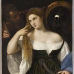 Портрет женщины в ее туалете. Тициан (1485 / 88-1576)