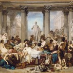 Римляне времен упадка. Томас Кутюр (1815-1879)