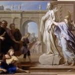 Минерва учит искусству скульптуры к родосцев. Houasse René Antoine (1645-1710)