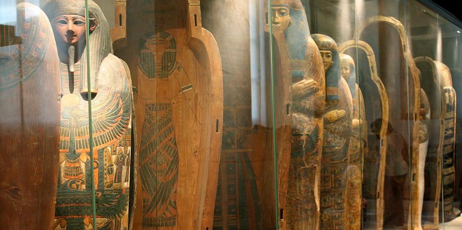 Египетские залы