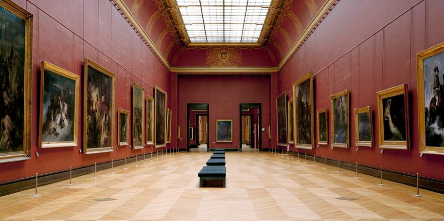 Залы итальянской живописи