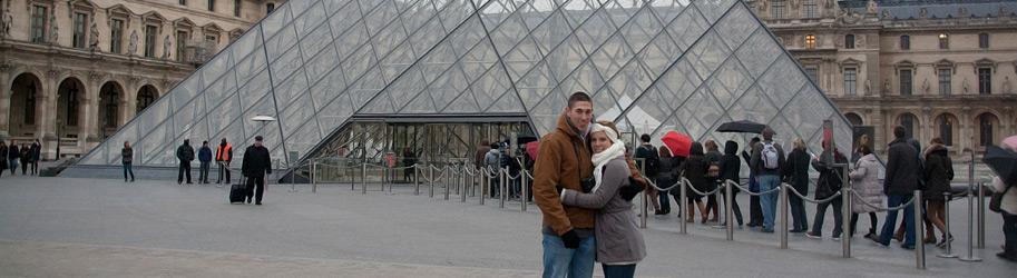 Мы были в Лувре