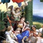 <b>АЛЛЕГРИ АНТОНИО, ПРОЗВАННЫЙ КОРРЕДЖО Аллегория Добродетелей,  1529-1530</b>
