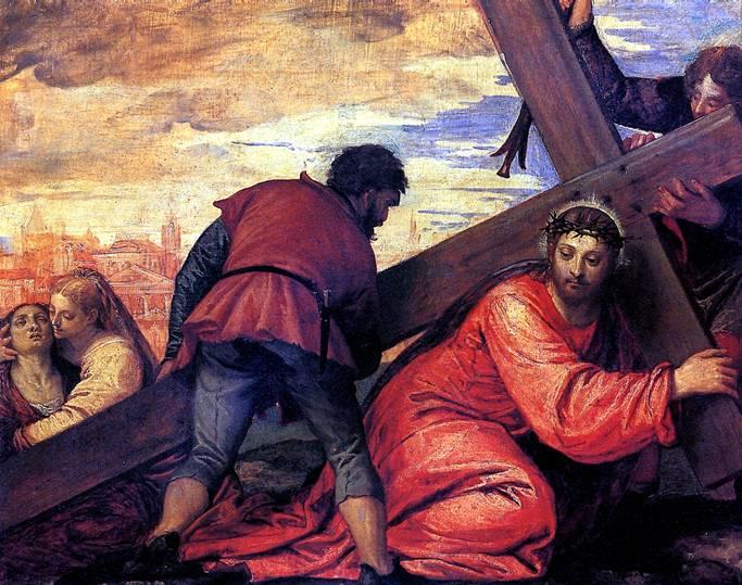 ВЕРОНЕЗЕ И ЕГО МАСТЕРСКАЯ Несение креста