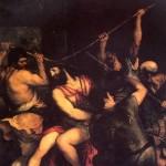 <b>ВЕЧЕЛЛИО ТИЦИАНО, ПРОЗВАННЫЙ ТИЦИАН Возложение тернового венца, 1543</b>