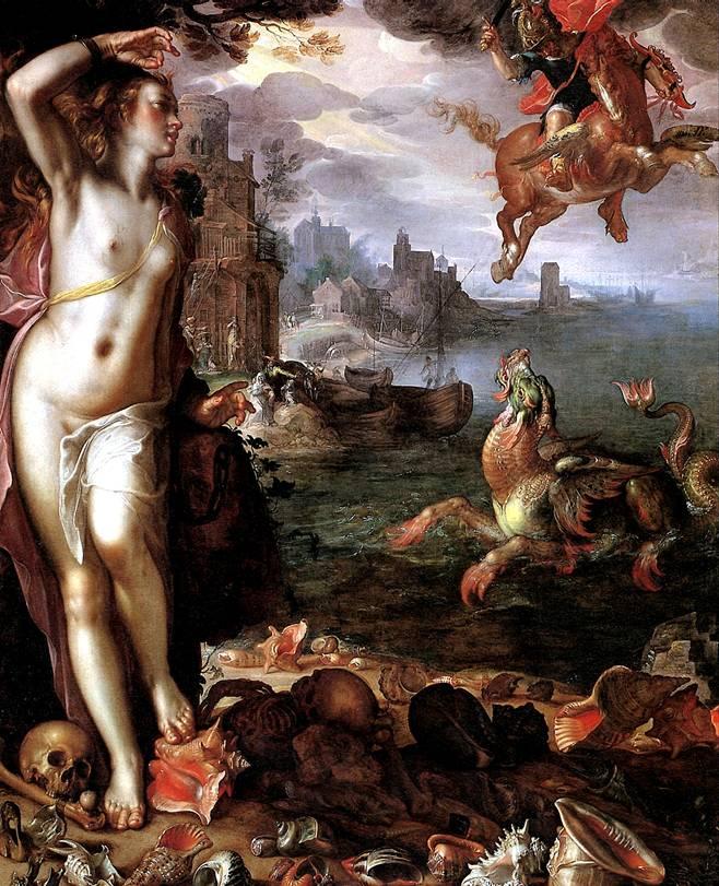 ВТЕВАЛ ИОАХИМ Персей и Андромеда, 1611
