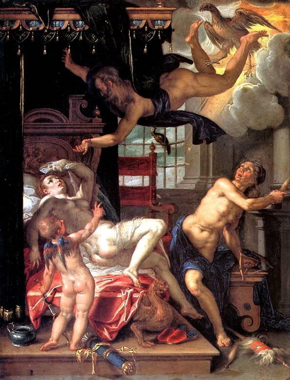 ВТЕВАЛ ИОАХИМ Юпитер и Даная