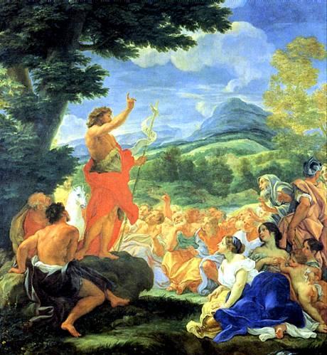 ГАУЛЛИ ДЖОВАННИ БАТТИСТА, ПРОЗВАННЫЙ БАЧИЧЧА Проповедь св. Иоанна Крестителя