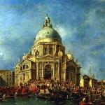 <b>ГВАРДИ ФРАНЧЕСКО Дож Венеции прибывает 21 ноября на фейерверк в память окончания...</b>
