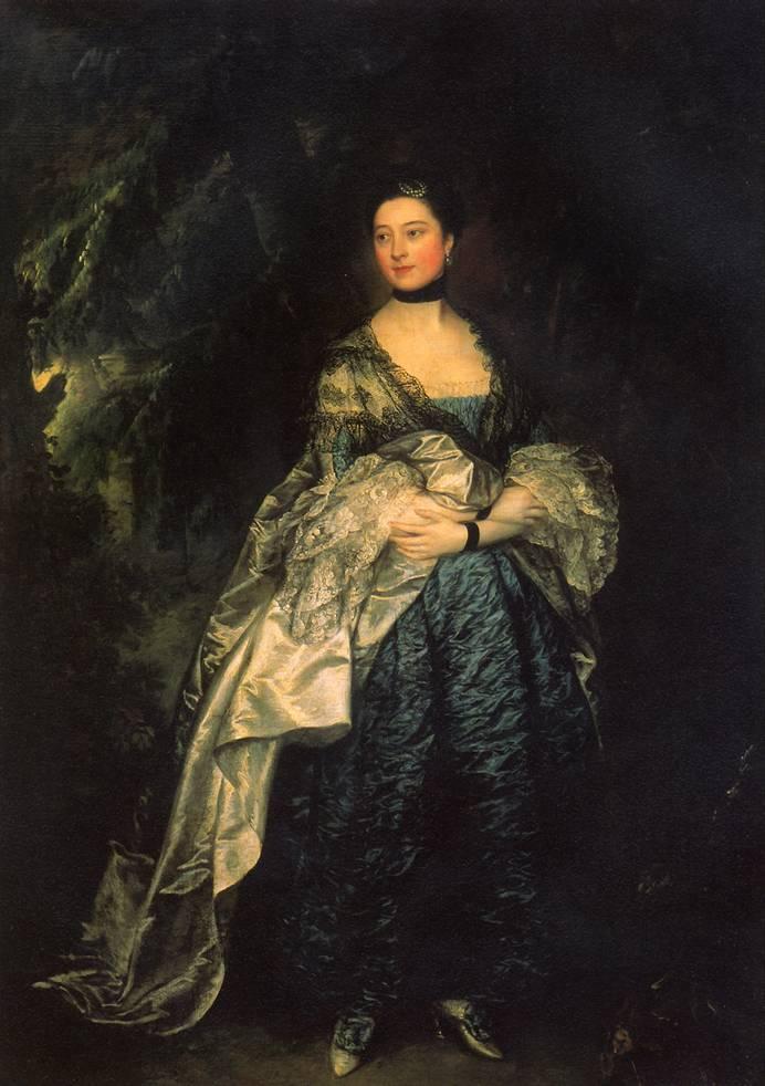 ГЕЙНСБОРО ТОМАС Леди Олстон, ок. 1760