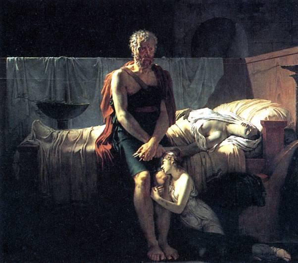 ГЕРЕН ПЬЕР НАРСИС Возвращение Марка Секста, 1799