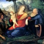 <b>БАРБАРИ ЯКОПО ДЕ Мадонна с младенцем и со святыми Иоанном Крестителем и аббатом ...</b>