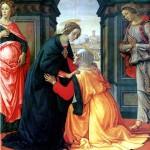 <b>ГИРЛАНДАЙО ДОМЕНИКО Встреча Марии и Елисаветы</b>