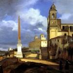 <b>ГРАНЕ ФРАНСУА МАРИУС Церковь Тринита деи Монти в Риме, 1808</b>