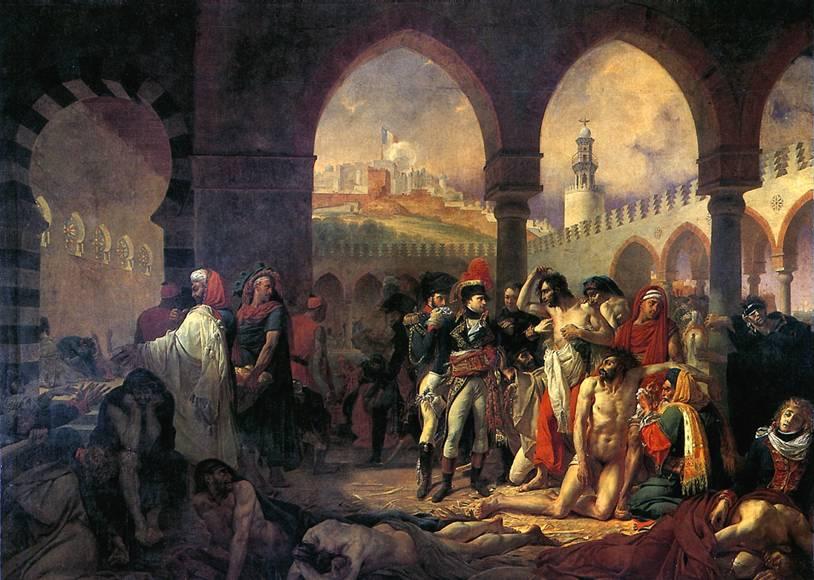 ГРО АНТУАН ЖАН Бонапарт посещает чумной госпиталь в Яффе 11 марта 1799 г