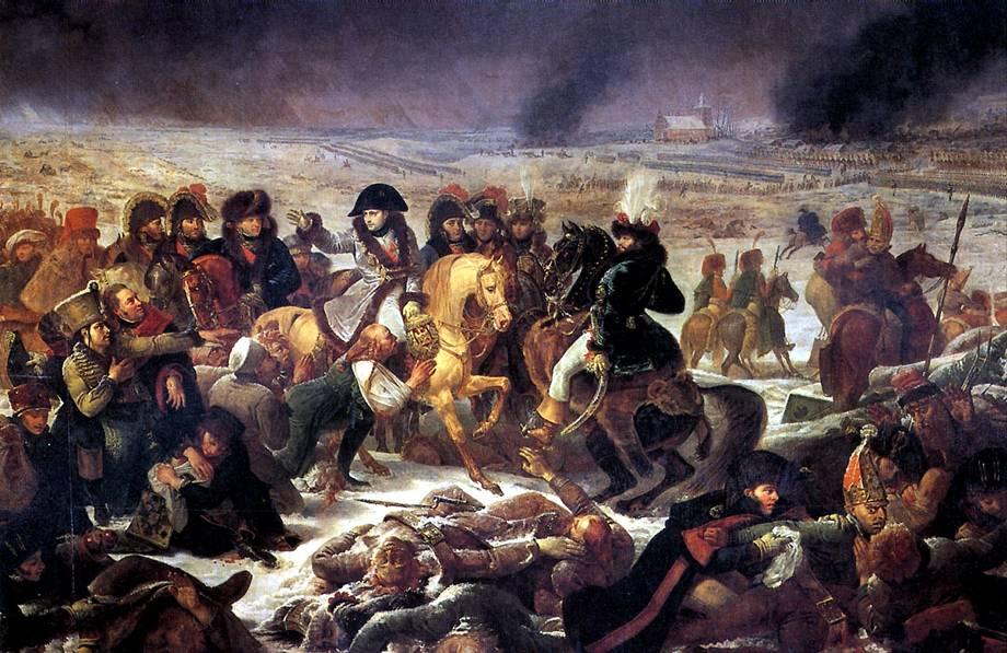 ГРО АНТУАН ЖАН Наполеон в битве под Эйлау 9 февраля 1807 г