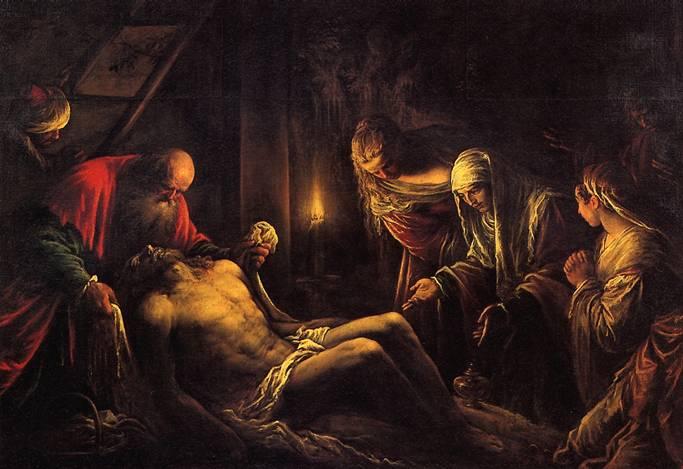 ДА ПOHTE ЯКОПО, ПРОЗВАННЫЙ ЯКОПО БАССАНО Снятие с креста