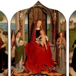 <b>ДАВИД ГЕРАРД Мария с младенцем среди музицирующих ангелов, с донатором и его сем...</b>