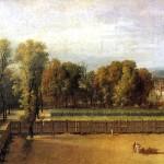 <b>ДАВИД ЖАК ЛУИ Вид сада в Люксембургском дворце, 1794</b>