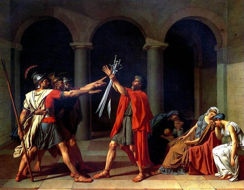 ДАВИД ЖАК ЛУИ Клятва Горациев, 1784