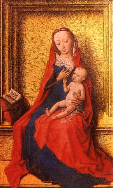 БАУТС ДИРК Богоматерь с младенцем