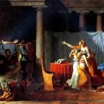 <b>ДАВИД ЖАК ЛУИ Ликторы приносят Бруту тела его сыновей, 1789</b>