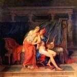 <b>ДАВИД ЖАК ЛУИ Любовь Париса и Елены, 1788</b>