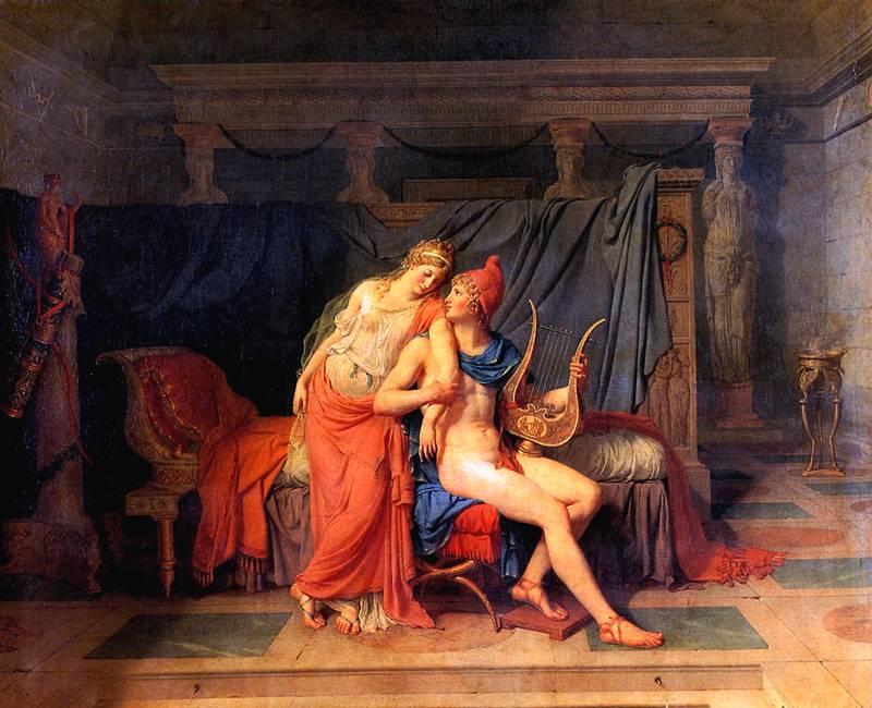 ДАВИД ЖАК ЛУИ Любовь Париса и Елены, 1788