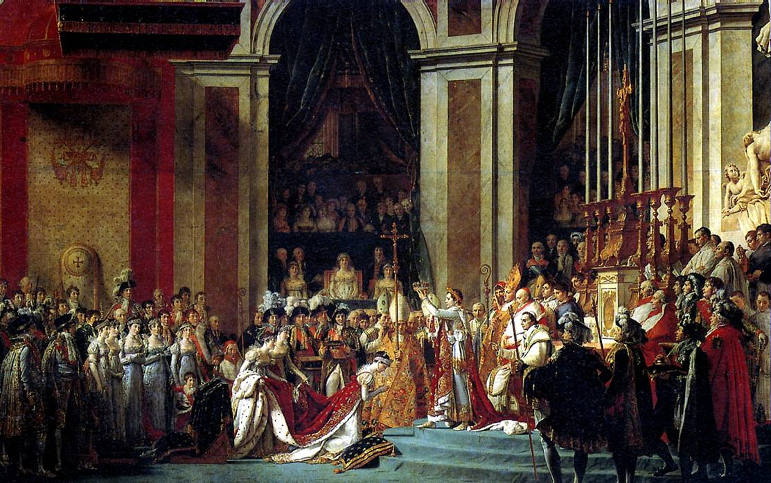 ДАВИД ЖАК ЛУИ Посвящение Наполеона I в императоры