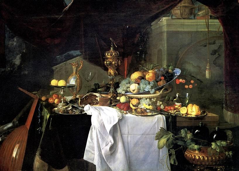 ДЕ ХЕМ ЯН ДАВИДС Десерт, 1640