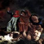 <b>ДЕЛАКРУА ЭЖЕН Данте и Вергилий, или Ладья Данте, 1822</b>