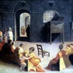 <b>БЕККАФУМИ ДОМЕНИКО Проповедь св. Бернардино Сиенского</b>