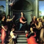 <b>ДЕЛЛА ПОРТА БАЧЧО, ПРОЗВАННЫЙ ФРА БАРТОЛОМЕО Благовещение со святыми Маргаритой,...</b>