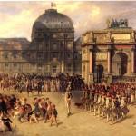 <b>БЕЛЛАНЖЕ ЖОЗЕФ ЛУИ ИППОЛИТ Парад на плацу Каррузель возле дворца Тюильри во врем...</b>
