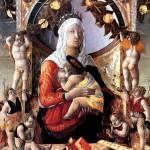 <b>ДЗОППО МАРКО Мадонна с младенцем в окружении восьми ангелов</b>