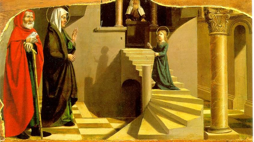 ДИПР НИКОЛА Введение Марии во храм, ок. 1500 г.