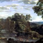<b>ДОМЕНИКИНО Пейзаж с Бегством в Египет, ок. 1620</b>