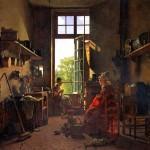 <b>ДРОЛЛИНГ МАРТИН Интерьер кухни, 1815</b>