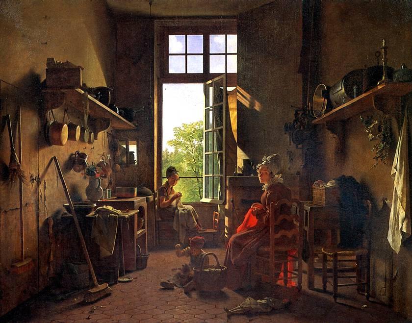 ДРОЛЛИНГ МАРТИН Интерьер кухни, 1815