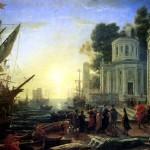 <b>ЖЕЛЛЕ КЛОД, ПРОЗВАННЫЙ ЛОРРЕН Прибытие Клеопатры в Тарс</b>