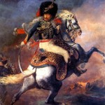 <b>ЖЕРИКО ТЕОДОР Офицер конных егерей императорской гвардии, идущий в атаку</b>