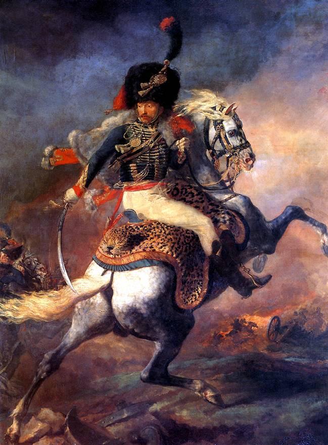 ЖЕРИКО ТЕОДОР Офицер конных егерей императорской гвардии, идущий в атаку