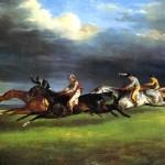 <b>ЖЕРИКО ТЕОДОР Скачки в Эпсоме, 1821</b>
